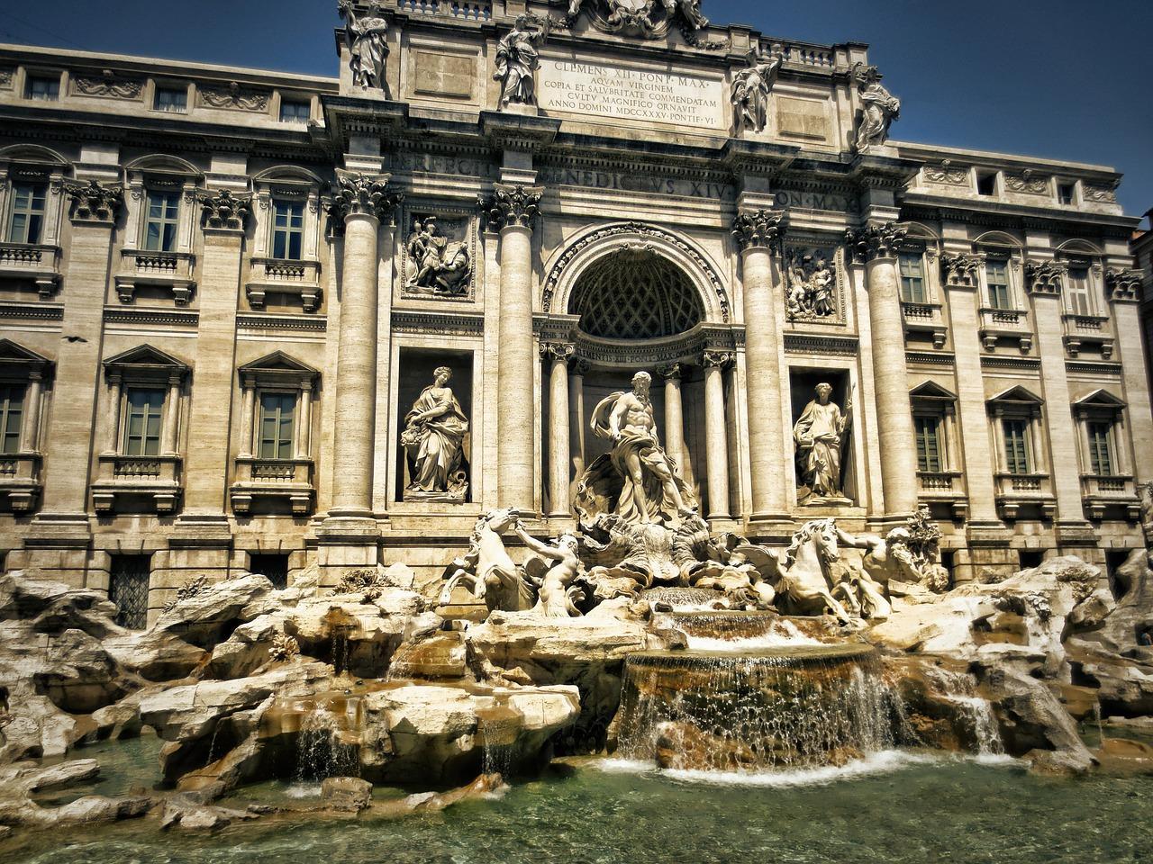 Fontaine de Trévi Rome